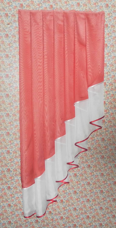 Как сшить шторы из двух тканей мастер класс